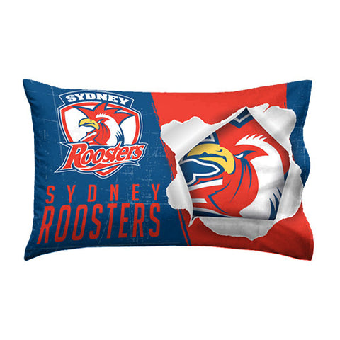 Sydney Roosters Pillow Case - Spectator Sports Online
