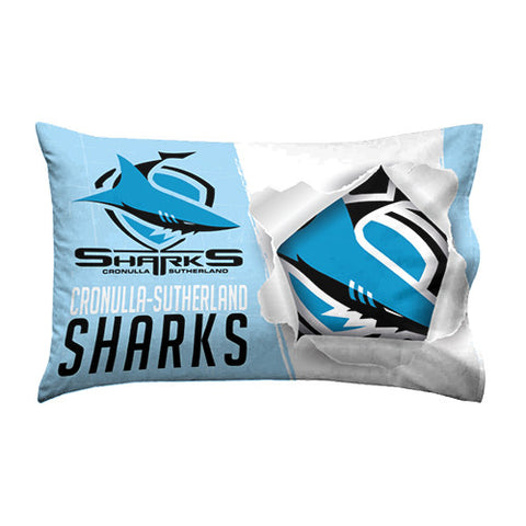 Cronulla Sharks Pillow Case - Spectator Sports Online
