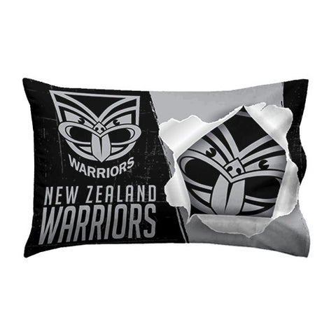 New Zealand Warriors Pillow Case - Spectator Sports Online
