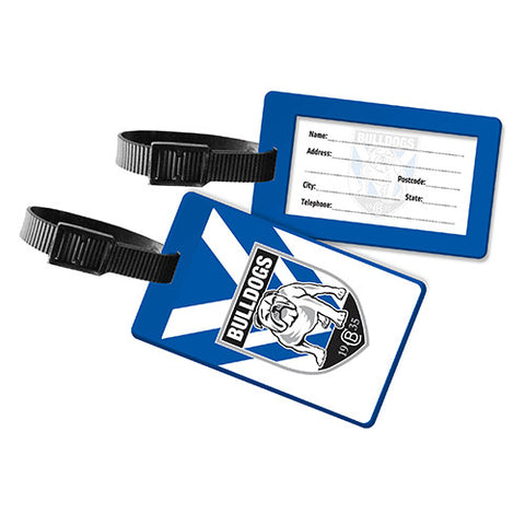 Canterbury Bulldogs Travel Luggage Bag Tag - Spectator Sports Online