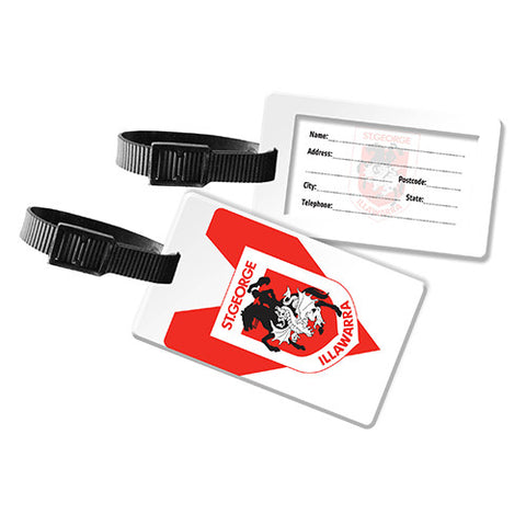 St George Dragons Travel Luggage Bag Tag - Spectator Sports Online