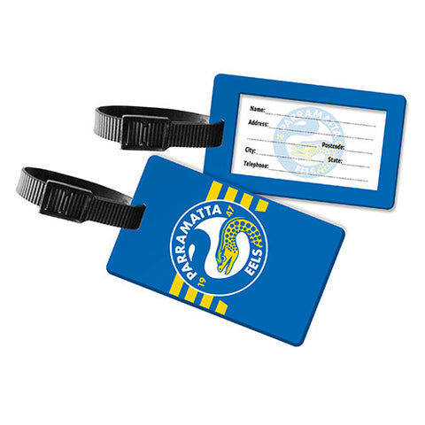 Parramatta Eels Travel Luggage Bag Tag - Spectator Sports Online