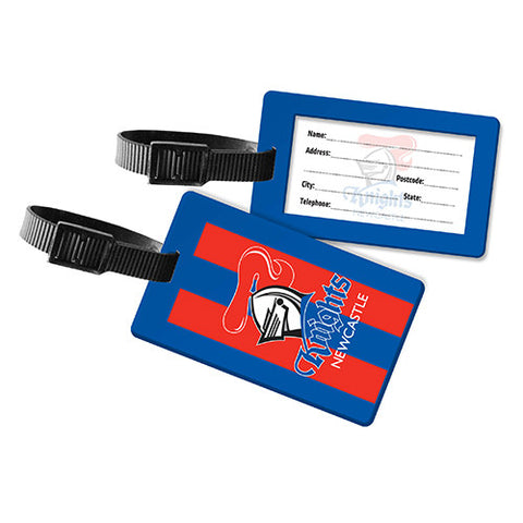 Newcastle Knights Travel Luggage Bag Tag - Spectator Sports Online
