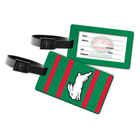 South Sydney Rabbitohs Travel Luggage Bag Tag - Spectator Sports Online