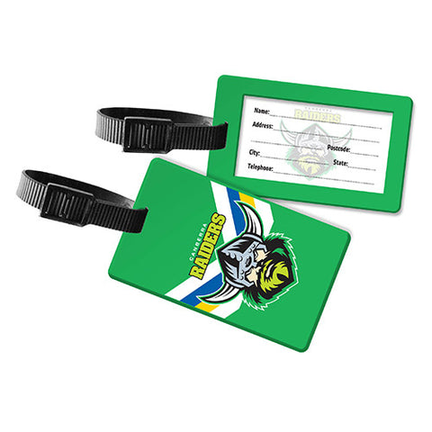 Canberra Raiders Travel Luggage Bag Tag - Spectator Sports Online
