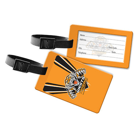 Wests Tigers Travel Luggage Bag Tag - Spectator Sports Online