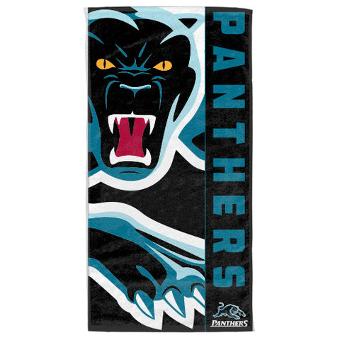 Penrith Panthers Beach Bath Towel - Spectator Sports Online