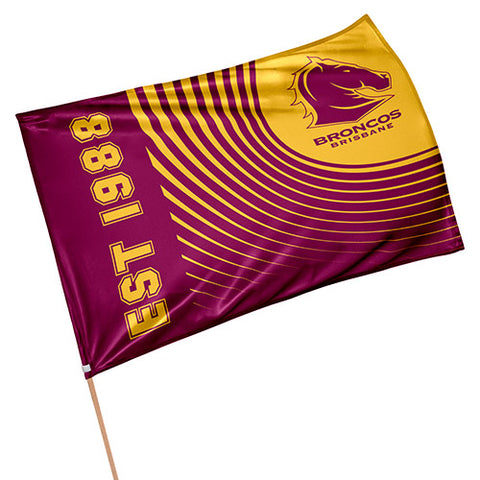 Brisbane Broncos NRL Game Day Flag