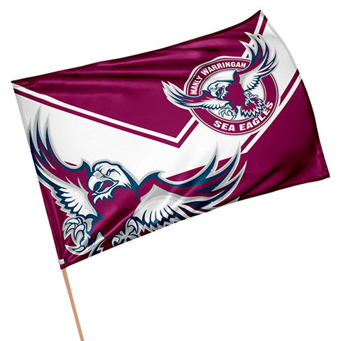 Manly Sea Eagles NRL Game Day Flag