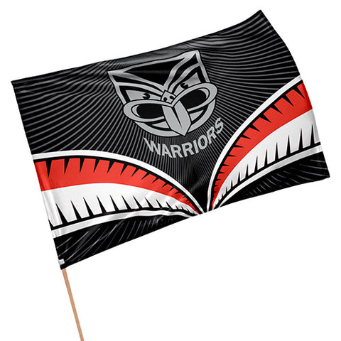 New Zealand Warriors NRL Game Day Flag