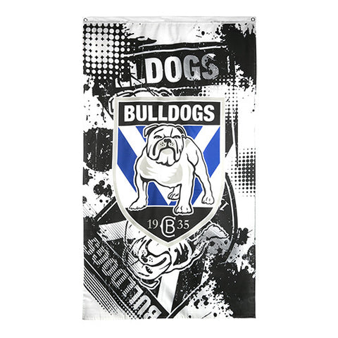 Canterbury Bulldogs NRL Large Wall Cape Flag - Spectator Sports Online