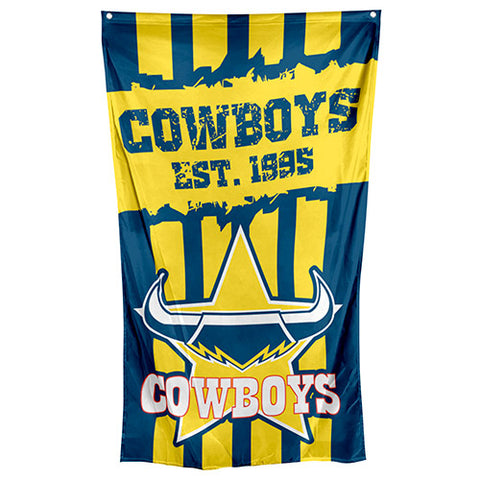 North Queensland Cowboys NRL Large Wall Cape Flag