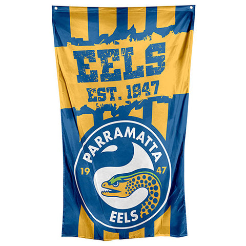 Parramatta Eels NRL Large Wall Cape Flag
