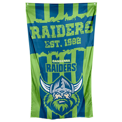 Canberra Raiders NRL Large Wall Cape Flag - Spectator Sports Online