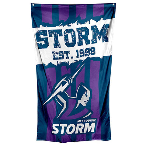 Melbourne Storm NRL Large Wall Cape Flag
