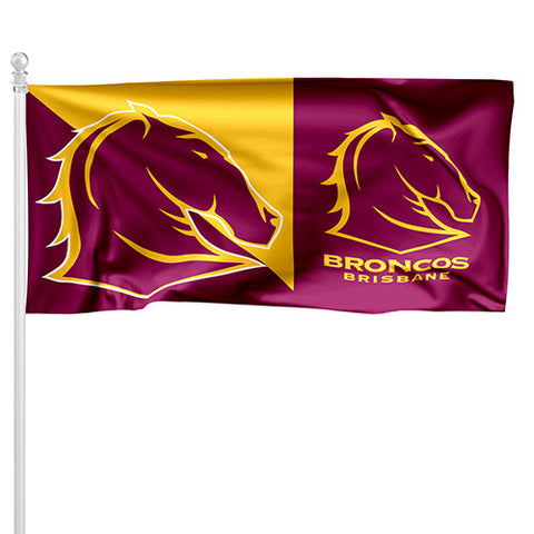 Brisbane Broncos NRL Pole Flag