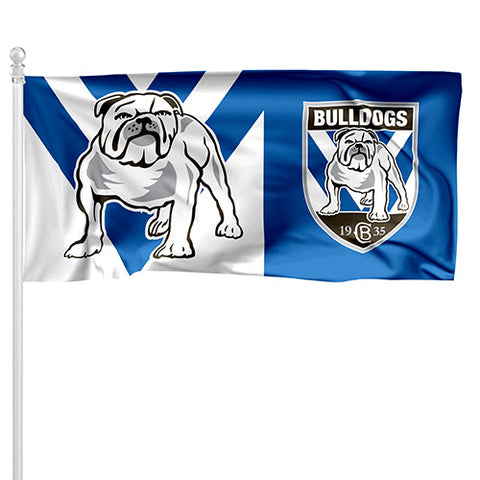 Canterbury Bulldogs NRL Pole Flag