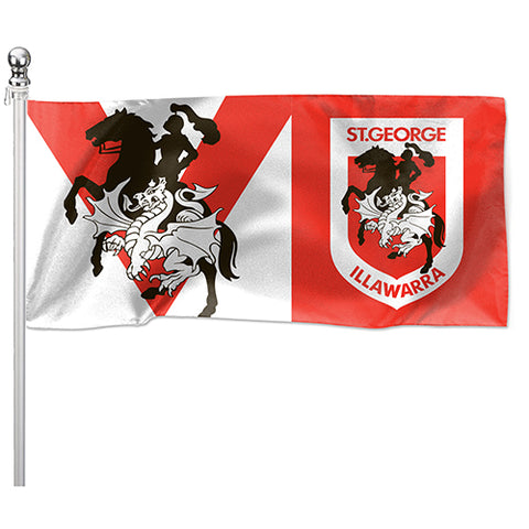 St George Dragons NRL Pole Flag