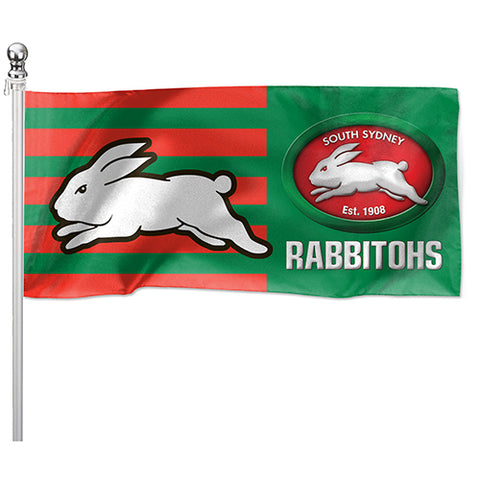 South Sydney Rabbitohs NRL Pole Flag