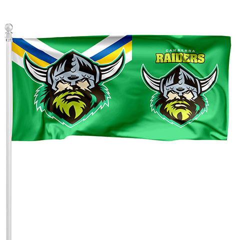 Canberra Raiders NRL Pole Flag