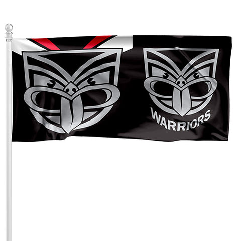 New Zealand Warriors NRL Pole Flag