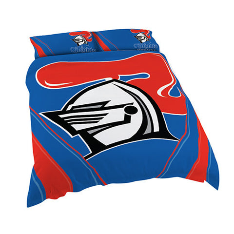 Newcastle Knights Quilt Doona Duvet Cover Pillow Case Set - Spectator Sports Online