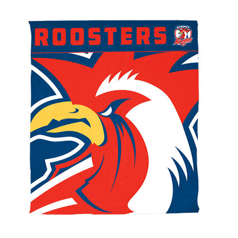 Sydney Roosters Polar Fleece Throw Rug Blanket