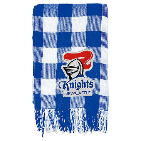 Newcastle Knights Tartan Throw Blanket
