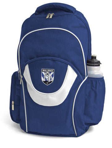 Canterbury Bulldogs NRL Fusion School Backpack Bag