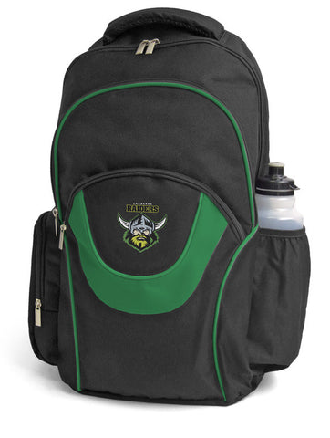 Canberra Raiders NRL Fusion School Backpack Bag