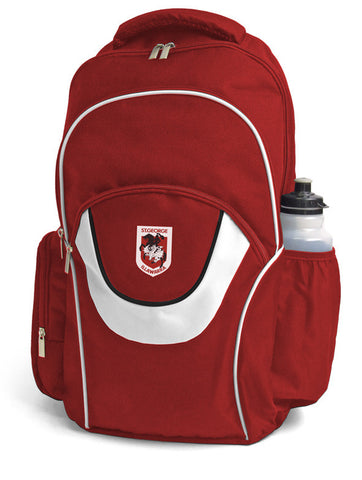 St George Dragons NRL Fusion School Backpack Bag