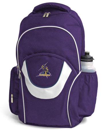 Melbourne Storm NRL Fusion School Backpack Bag