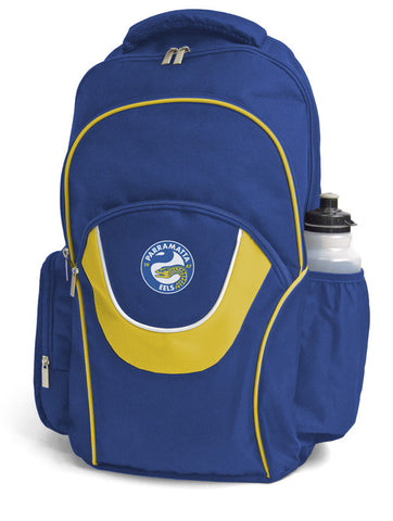 Parramatta Eels NRL Fusion School Backpack Bag