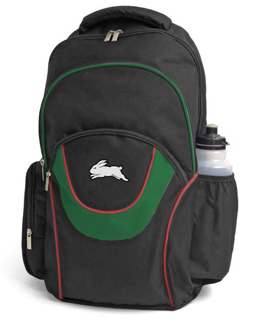 South Sydney Rabbitohs NRL Fusion School Backpack Bag
