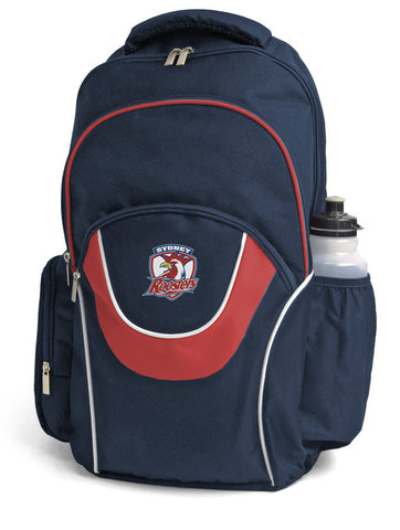 Sydney Roosters NRL Fusion School Backpack Bag
