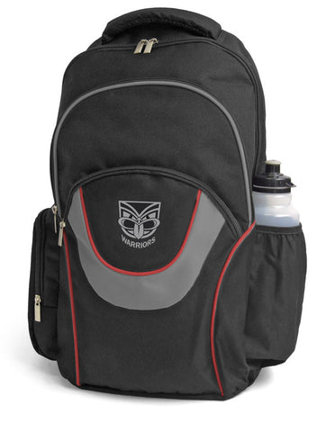 New Zealand Warriors NRL Fusion School Backpack Bag