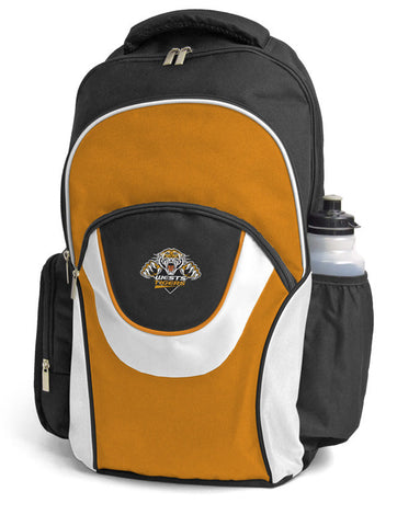 Wests Tigers NRL Fusion School Backpack Bag