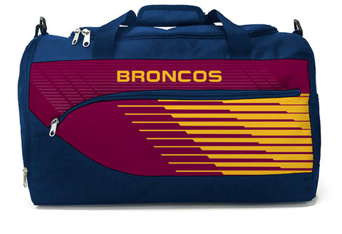 Brisbane Broncos NRL Bolt Travel Training Shoulder Sports Bag
