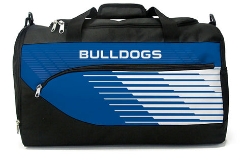 Canterbury Bulldogs NRL Bolt Travel Training Shoulder Sports Bag