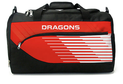 St George Dragons NRL Bolt Travel Training Shoulder Sports Bag