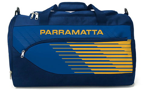 Parramatta Eels NRL Bolt Travel Training Shoulder Sports Bag