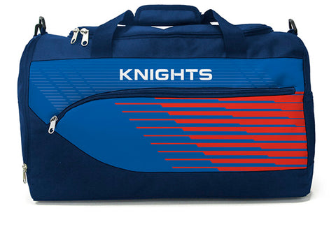 Newcastle Knights NRL Bolt Travel Training Shoulder Sports Bag