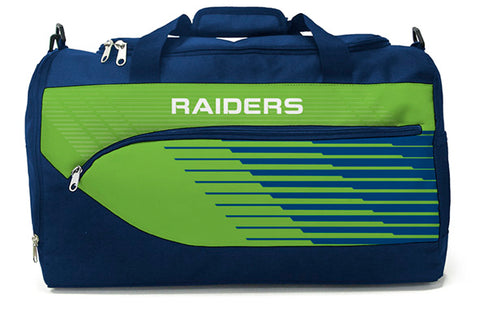 Canberra Raiders NRL Bolt Travel Training Shoulder Sports Bag