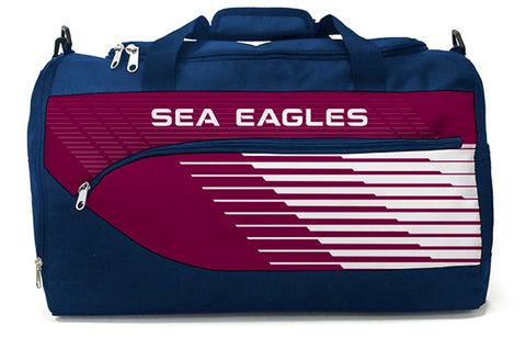 Manly Sea Eagles NRL Bolt Travel Training Shoulder Sports Bag