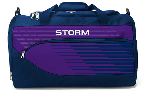 Melbourne Storm NRL Bolt Travel Training Shoulder Sports Bag