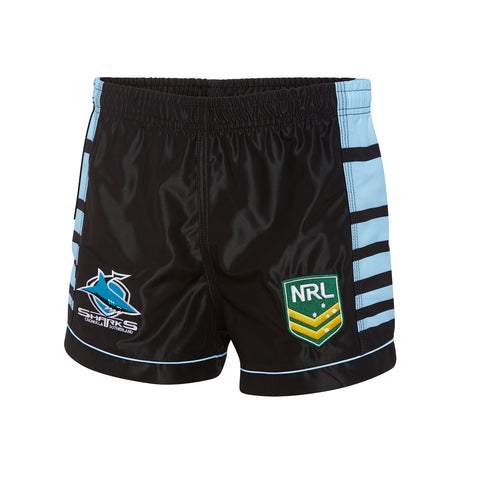 Cronulla Sharks NRL Boys Youths Supporter Shorts