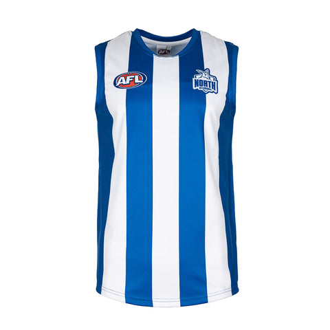 North Melbourne Kangaroos Boys Youths Footy Jumper Guernsey