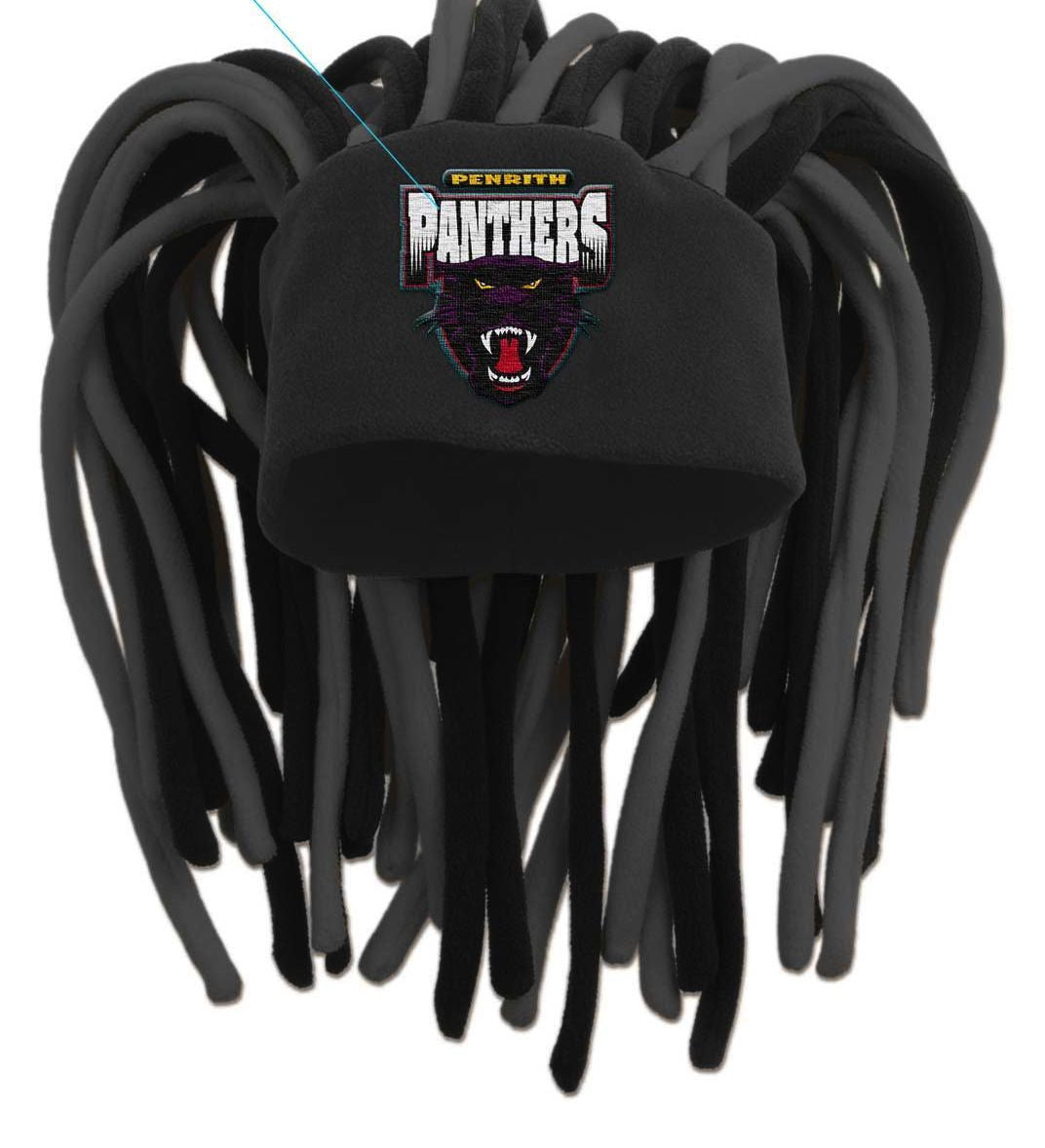 9b4ab1c5d Penrith Panthers Dreadlock Pez Beanie Fun Hat - Spectator Sports Online