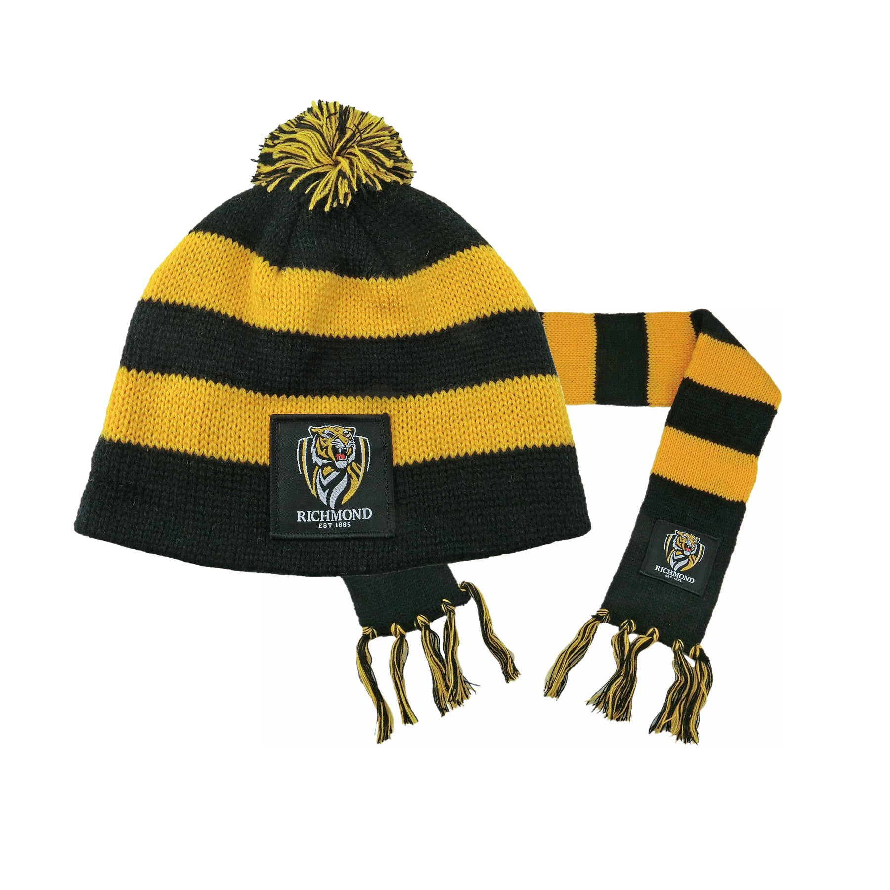 Richmond Tigers Baby Pack - Baby Scarf and Beanie