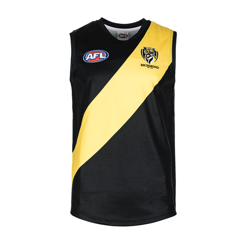 Richmond Tigers Mens Footy Jumper Guernsey